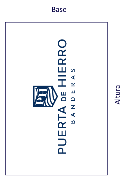 Bandera Vertical - Logo Vertical